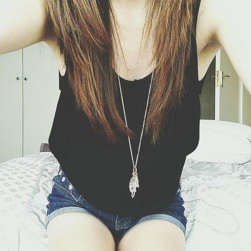 Selfie Outfitoftheday Cute Blackshirt