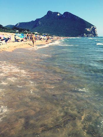 Circeo San Felice Circeo Italy Sabaudia Mare Spiaggia Beach Summer Summertime Summertime ♥ Italy