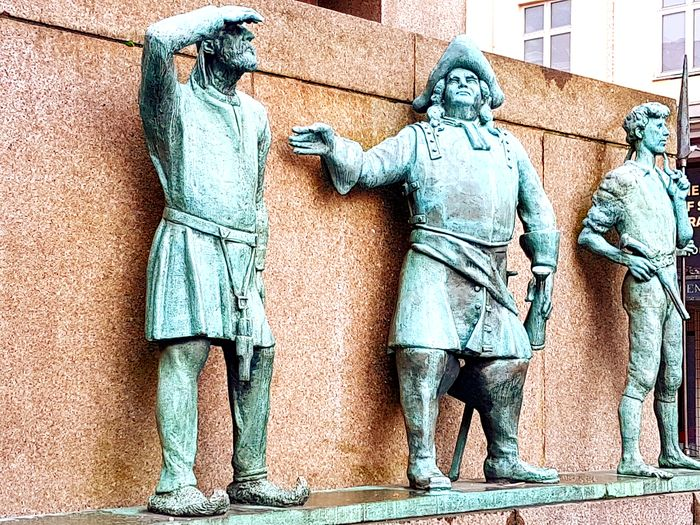 Bergen Norway🇳🇴 Norway Bergen Outdoors Day Statue Hordaland City Europe Scandinavia