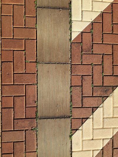 Detail shot of cobblestone