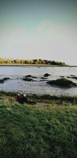 Scenics Water Outdoors Nature Deben River, Suffolk Harbor Riverbank View Landscape Photography Tranquility Park Bench,