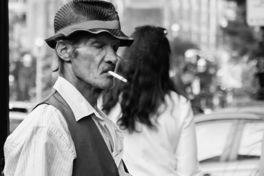 Adult Adults Only Day Hat Leisure Activity Lifestyles Men One Man Only One Person Only Men Outdoors People Real People Smoking - Activity First Eyeem Photo