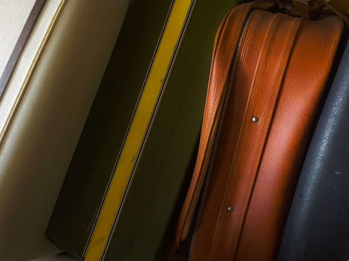 Indoors  Close-up Backgrounds No People Day Luggage Travel Vintage Luggage Explore