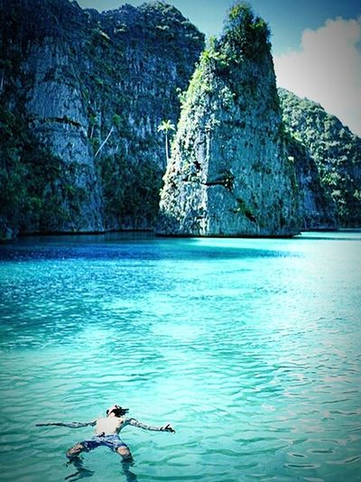 Wow!! @mytripmyadvntr First Eyeem Photo location: Indonesia.Raja ampat Pesonaindonesia