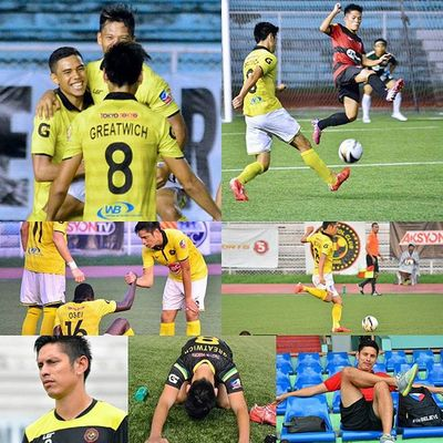 Happy birthday to @kayafc 's and former @phi_azkals' @chrisgreatwich! 🎂⚽🏆 . . . All the best to the 2015 UFL Cup Champions @kayafc and on your 2016 AFC Cup Playoff!! 🎆 . . . Sbspotlight Soccerbible UFL Afc unitedfootballleague unakaya kayafc football themanansala