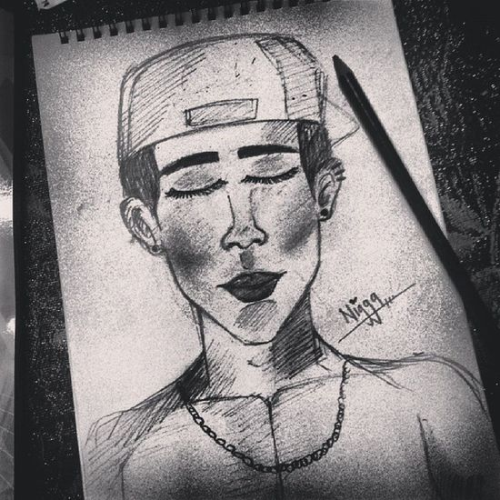 Drawing for tonight ,?? Astalavista bebehhh ,?? Drawing Artistmafia Artmybe Artline draw sketch sketching ennsketch art lukisan nigga