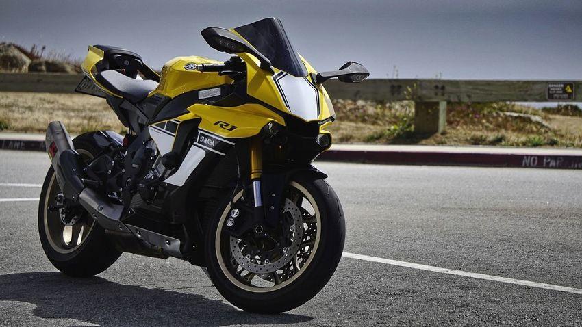 Sport Bikes Fast Speed Biker Motorcycle Headwear Road Sky Motorsport Riding