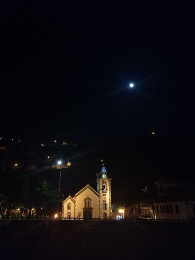 Nightphotography Church Madeira Island Alone Time Fazosteusmomentos