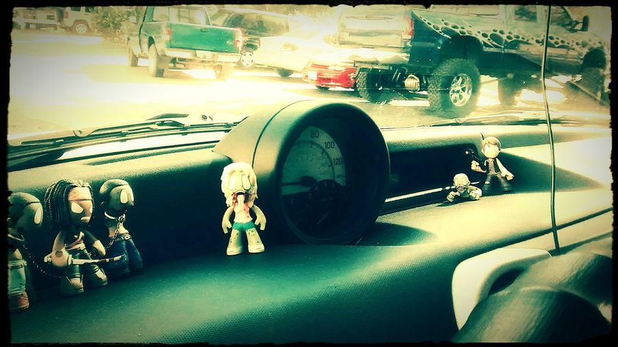 05 Scion XB Walker Dash The Walking Dead Walkers Daryl Dixon Michonne Scionxb Xb  Scion  Dash Scenes Fernandina Beach FloridaYulee Florida