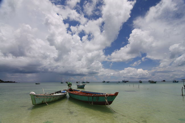 Phu Quoc,Vietnam Vietnam Beauty In Nature Cloud - Sky Day Land Nature Nautical Vessel No People Occean Outdoors Phu Quoc Scenics - Nature Sea Sky Tranquil Scene Tranquility Water