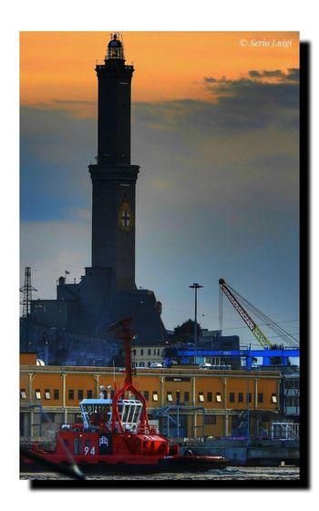 Il simbolo della nostra citta' di Genova la Lanterna Lanterna Di Genova Sunstet Lanter