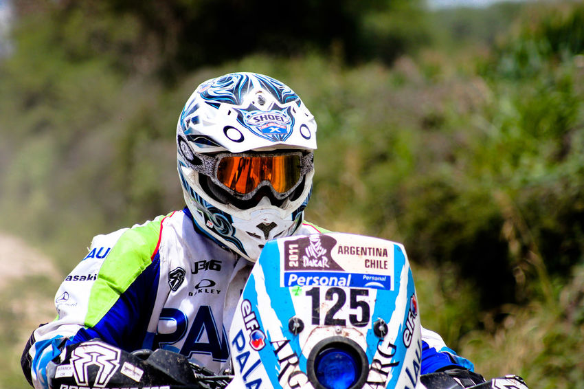 Dakar Argentina Casco Dakar Dakar 2017 Raiders Antiparras Close-up Day Focus On Foreground Leisure Activity Men Moto Motocross Nature One Person Outdoors People Piloto Race Raid Real People Sport
