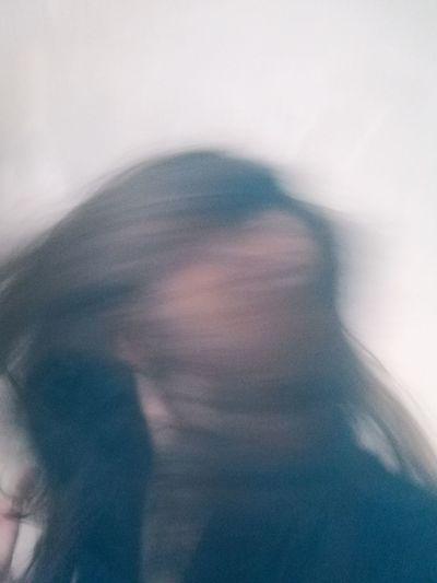 Defocused image of person in sunlight