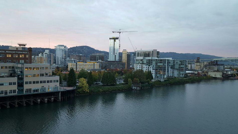 Cityscapes Portland Oregon Landscape_photography River Collection Willamette River  Eye4photography Photooftheday  Samsungphotography No Edit No Filter