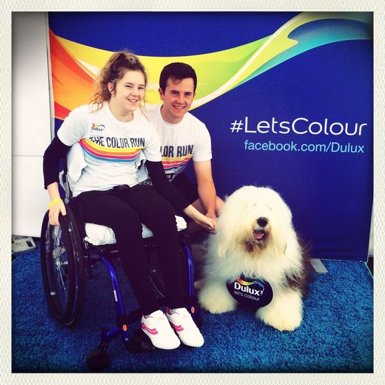 The Color Run DULUX Color Run Dog