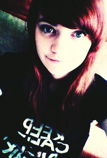 Redhair Blue Eyes