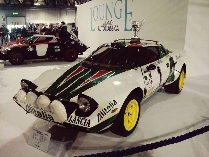 Lancia Stratos Milano Italy Alitalia