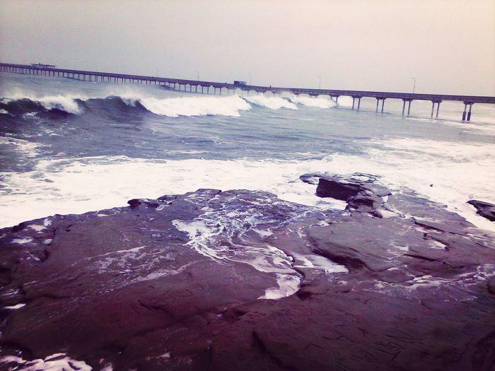 Sunset Cliffs Pier Ocean Waves