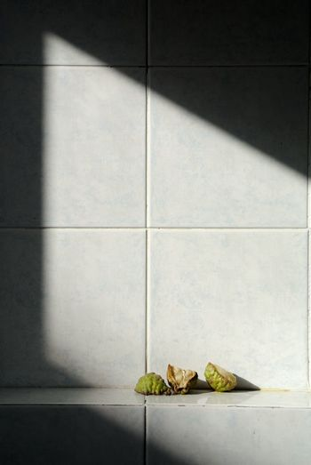 Kaffir Lime Slices On Wall