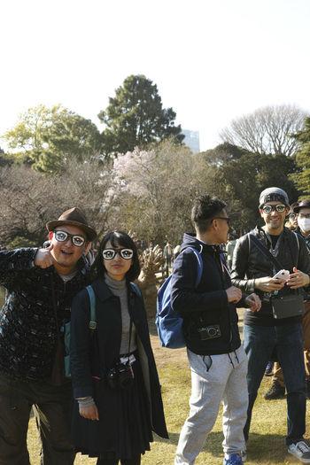 EyeEm Tokyo MeetUp 12 Glasses Shinjuku Shinjyukugyoen Strange Strangers Sunny Sunny Day