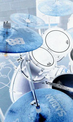 Drums Negative Sabian B8