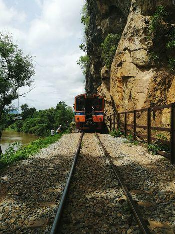 Train Thailand Trip Train Station Railway Railway Track