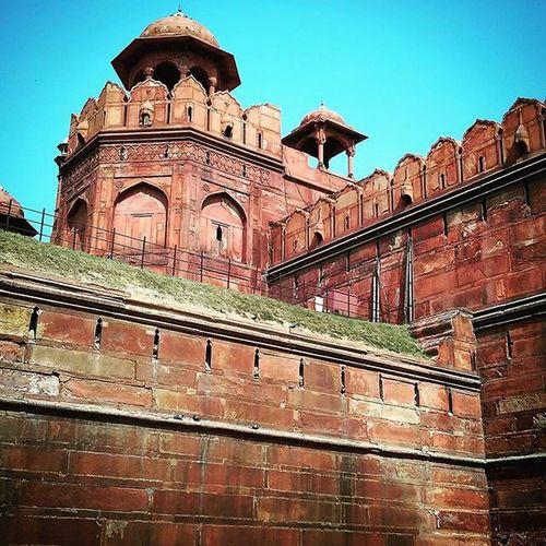 Redfort Nocannons Military Heritage Ancienthistory Hotday Architecture Halfofthecitysize Impressive India