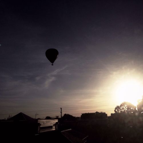 Sunrise air trip Beautiful Surroundings Melbourne The Calmness Within