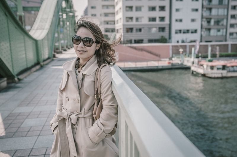 People Women Woman Portrait Working Japan Tokyo,Japan Portrait City Young Adult Glasses Architecture Young Women One Person Day Building Exterior Built Structure Lifestyles Fashion Focus On Foreground Beautiful Woman Real People Sunglasses Adult Beauty Hair Hairstyle Trench Coat Outdoors