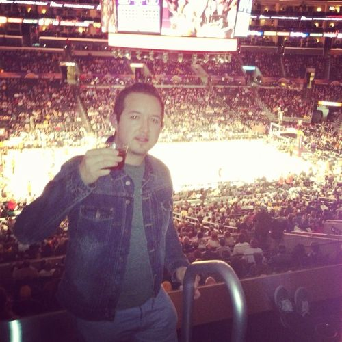 View From the suite , Lakers vs Bucks