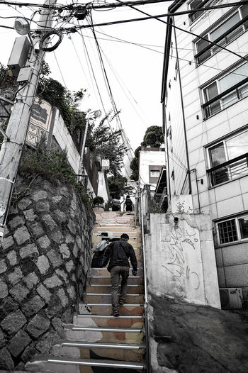 Lifestyles Relaxation Residential District Street Monochrome Photography Itaewon Relexation Cityscape Snapshot Getting Inspired✨ Feeling Inspired Itaewon Freedom Seoul Korea City City Life Snapshots Of Life Getting Inspired TakeoverContrast Colors and patterns Monochrome MonochromePhotography Long Goodbye