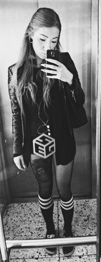 Blackandwhite Girl