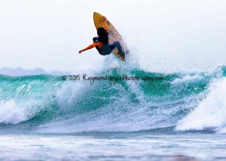 Catching Air with his FireWire Surfboard !!! Surfingiseverything Surfingislife Surfingphotography Surfingmalibu SurfingUSA Surfer Dude Just Smile  Happy People Surfer
