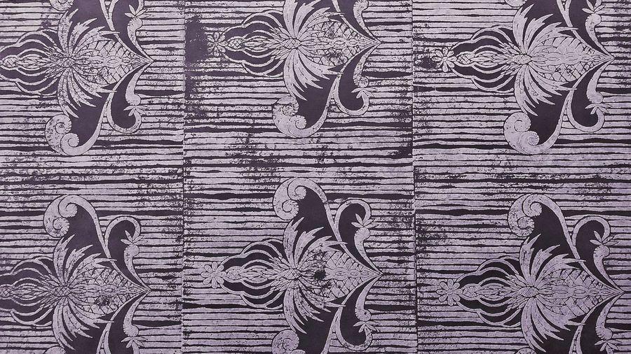 """""""Handmade Wallpaper zubersalzmann """" Designwallpaper Decor Heritage Woodenstamps Stamps Stencil Designinterior Interior Interior Design Design Newwallpaper Wallpaper Wood - Material Backgrounds Full Frame Pattern Textured  No People Built Structure"""