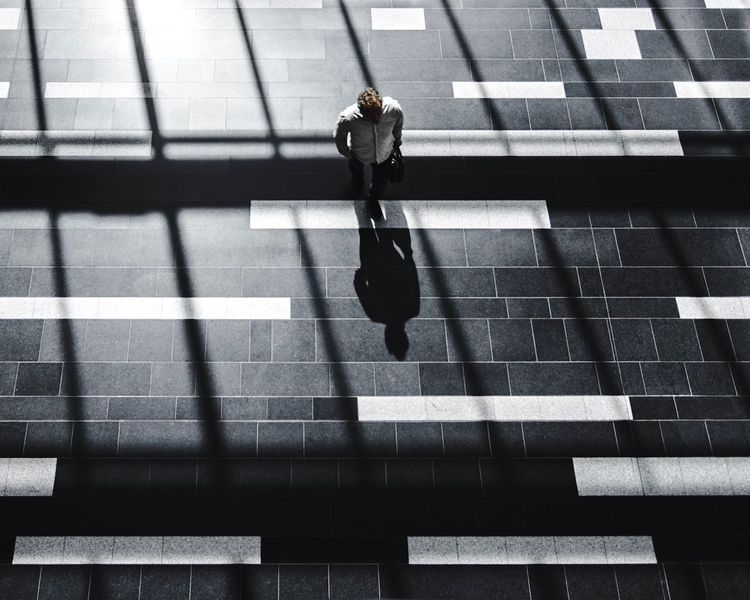 The Week On EyeEm EyeEm Best Shots Blackandwhite Shadow Walking Outdoors Architecture Men The Street Photographer - 2017 EyeEm Awards Streetphotography Street Photography Everybodystreet Black & White Shapes And Forms Minimalism