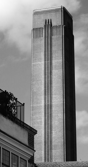 Low Angle View Of Tate Modern Against Sky