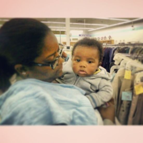 23DaysofCarter YoungCarter December15th Day15 3Months AQ Auntie ThriftShopping @quawana_bana89