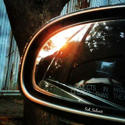 My best side mirror shot Bsm_sun Bsm_shots Mirror Sun