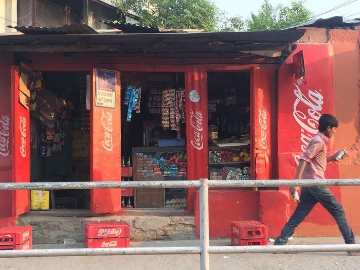 Convenient store Retail  Cocacola