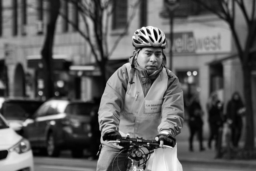 Bicycle Bike Messenger Bikemessenger City Life Delivery Delivery Man Delivery Service DeliveryMan Eyecontact Food Delivery Messenger Urban Urban Lifestyle Urbanphotography
