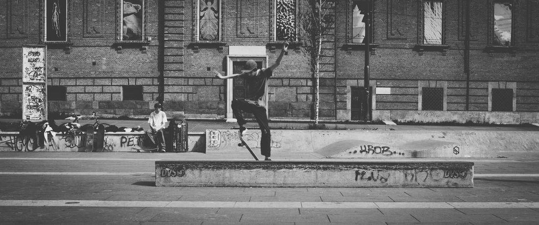 Blackandwhite Streetphotography Skateboarding