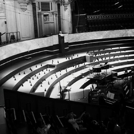 Concert Watching A Performance Great Performance Monochrome Urban Geometry Sound Of Silence Sounds Of Blackness Architecture_bw Light And Shadow