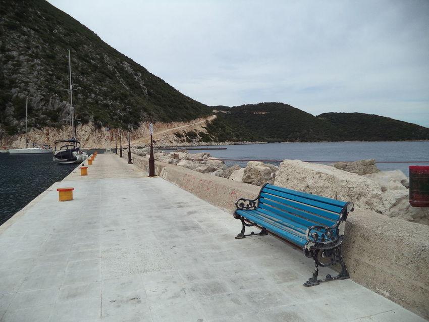 Archipelago Blue Sky Greece Greek Islands Island Lefkada Island Stone Summer