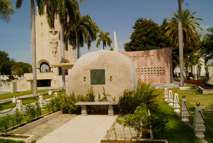 The resting place of Fidel Castro Cuba Fidel Castro's Grave Comunism Santiado De Cuba Tree Cemetery Architecture No People Grave Built Structure Outdoors Day