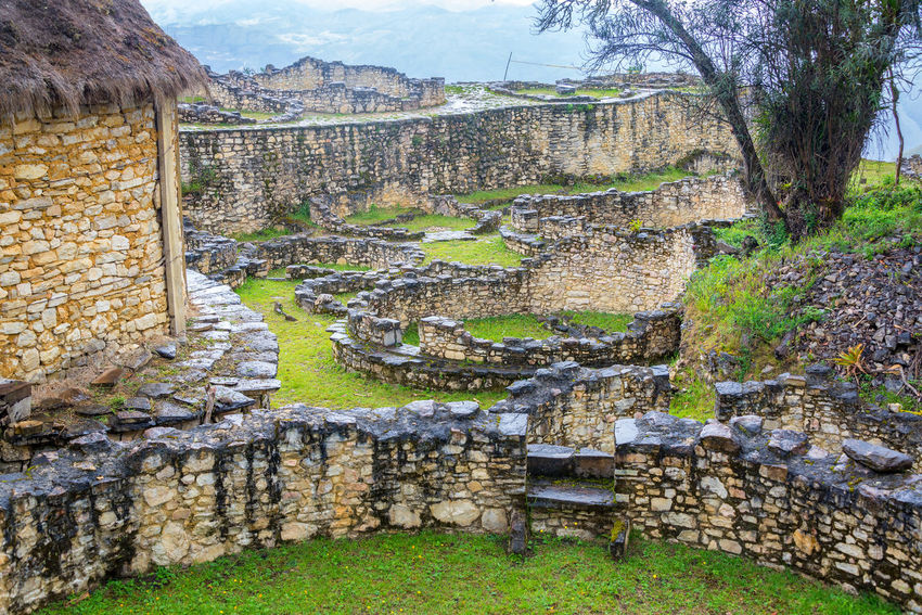 View of the ancient ruins of Kuelap, Peru Amazonas Ancient Ancient Civilization Archeology Architecture Architecture Building Chachapoyas Chachapoyya City Culture Fortress Green Kuelap No People Old Ruin Ruins South America Stone Tourism Travel Travel Destinations Utcubamba
