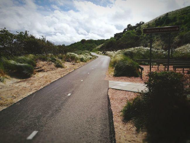 Way Ahead Road Grass