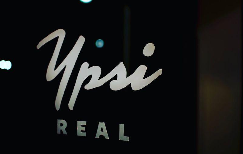 Get real. Night Text Communication Close-up No People Illuminated Outdoors Black Background Logo Ypsilanti Ypsi Real