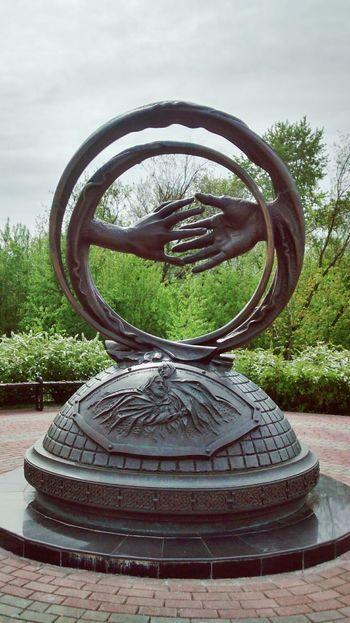 Circle Tree Sky Memorial Hand