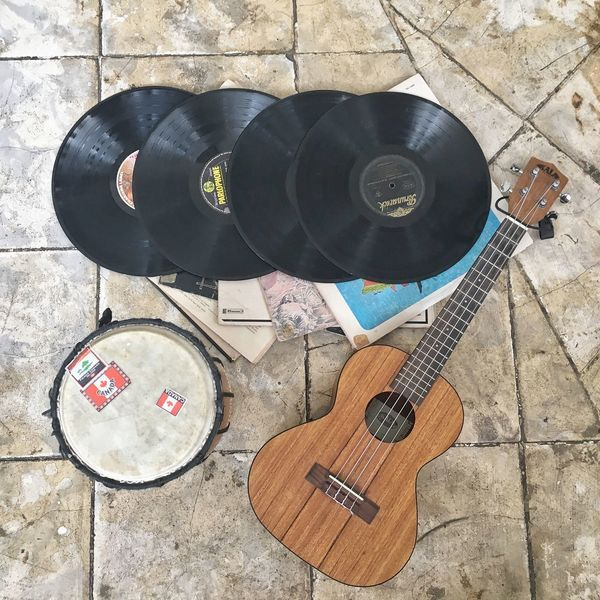 Music Music Musical Instrument Directly Above Guitar High Angle View Musical Equipment Arts Culture And Entertainment Wood - Material Musical Instrument String No People Electric Guitar Indoors  Day Close-up Bongo Vinyl Records Eyeem Philippines Flatlay