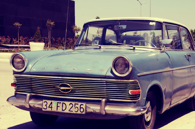 Blue Car Car Cars Close-up Feeling Land Vehicle Old Car Old Cars Old School Old School Cart  Old School Romance Old-fashioned Oldtimer Opel Retro Retro Car Retro Style Retro Styled Road Road Trip Sunny Transportation Vintage Vintage Cars Vintage❤